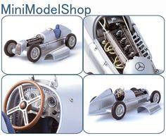 CMC 1:18 Mercedes Benz W25 Diecast Model Car M033 Diecast Model Cars, Mercedes Benz