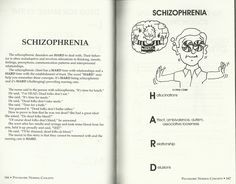 Training staff on schizophrenia with examples