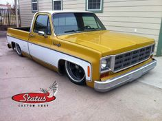 pick up truck. 87 Chevy Truck, Classic Chevy Trucks, Chevy C10, Chevy Pickups, Chevrolet Trucks, Bagged Trucks, Lowered Trucks, C10 Trucks, Pickup Trucks