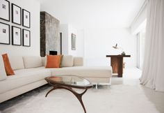 Smooth And Sleek Rooms  - ELLEDecor.com