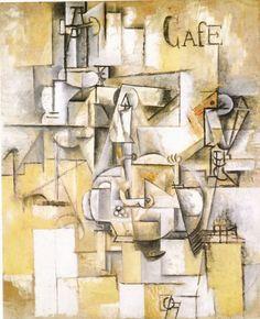 Reproduction de Picasso, Le pigeon aux petits pois. Tableau peint à la main dans nos ateliers. Peinture à l'huile sur toile.