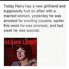 Hahaha, Harry might go for older women, but trust me, if he had an affair with a married woman, Directioners would have known about it minutes after it happened. not months. Seems like this lady just wants her 15 min of fame.