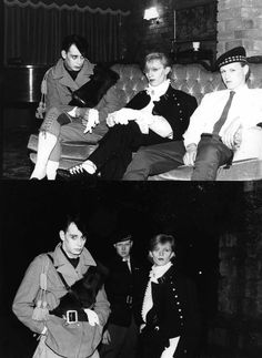 New Romantic poseurs, early 1980s fashion