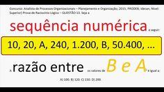 Curso Raciocínio Lógico Sequência de números Teste Psicotécnico Detran C...https://youtu.be/nyV5SsaJbt8