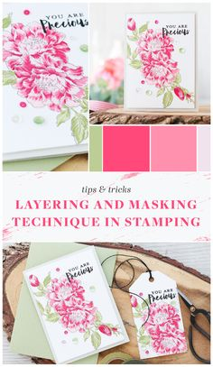 Learn some great helpful stamp layering and masking tips and tricks from our guest designer. Create a card, bookmark or any kind of projects using Altenew stamp set Remember This. Simply click this photo to take you to the video tutorial or you could also visit our blog for more details. www.altenew.com