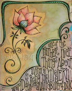 ART-JOURNAL-ink-flower-illustration by inkstitch, via Flickr