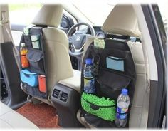 This Waterproof Multi Functions Car Back Seat Storage Bag Is A Durable  Handy Organizer To Keep