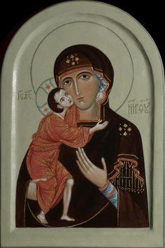 Icon of the Mother of God Feodorovskaja. 2014 Olga Shalamova
