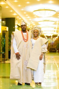 hum or like this, but instead of the kaki/gold color blue, for both...Kike and Tayo - Traditional Wedding 75