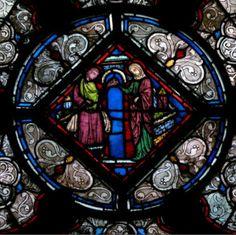 (Vitrail) Vitraux de la Sainte Chapelle à Paris