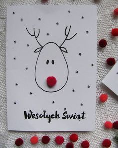 Learn about Homemade Christmas Card Ideas Diy Holiday Cards, Christmas Paper Crafts, Homemade Christmas Cards, Christmas Cards To Make, Christmas Diy, Cards Diy, Company Christmas Cards, Diy Postcard, Christmas Drawing