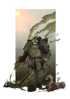 Disgustingly Relentless by MistyMiasma on DeviantArt Warhammer 40k Art, Warhammer Models, Star Citizen, Chaos Legion, Chaos 40k, The Horus Heresy, New Warriors, Game Workshop, The Grim