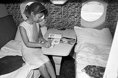 Бизнес–класс в самолете Ту–114, 1963 год