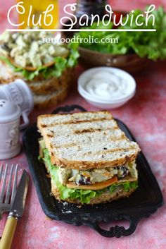 Club Sandwich is one of the best ways to eat a protein loaded meal. My version of Club Sandwich features the leftovers sitting in the fridge. But it is as delicious as an authentic club sandwich. funfoodfrolic.com