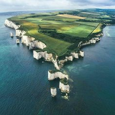 Old Harry Rocks UK who knew southern UK was this beautiful , next London trip