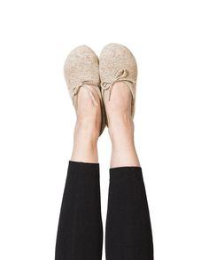 Kaschmir Hausschuhe camel Partner, Slippers, Link, Shoes, Beige, Fashion, Cashmere, Woman, Moda