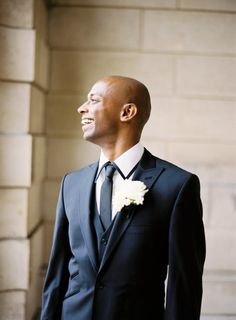 Classical black tie groom style #fashion #grooms