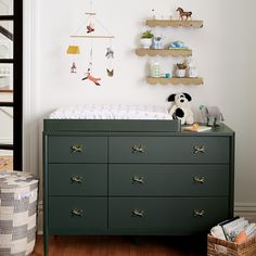Shop Hampshire 6-Drawer Olive Changing Table. The clean, timeless design of our Hampshire Olive 6-Drawer Changing Table means it'll fit in regardless of what kind of décor is in your kid's room.