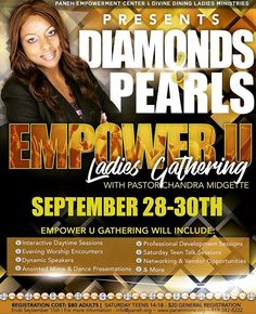 """Speaking alert! Ladies, I'll be leading a dynamic round table discussion on the power of your words at the Diamonds & Pearls Empower U Ladies' Gathering, Sept. 30; if you're in the Raleigh/Durham, NC area join us! Sign up at www.panehmime.org. •••••••••••••••••••••••• #conference #ladies #women #womenempowerment #words #wordshavepower #conversation #relationships #teens #adult #adults #communication #change #growth #marketing #socialmediamarketing #digital #digitalmarketing #raleigh #durham…"