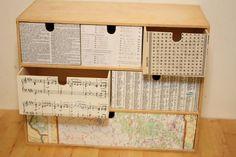 DIY Tutorial DIY Home Decor / IKEA Mini Drawer Makeover