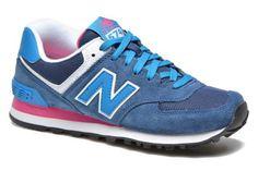 New Balance WL574 Blauw - Sneakers bij Sarenza.nl (238305)