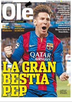 Messi hits world headlines again | FC Barcelona