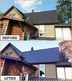"""How to Install a Steel Metal Roof on a House DIY Project Homesteading  - The Homestead Survival .Com     """"Please Share This Pin"""""""
