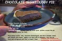 Chocolate Shakeology Pudding
