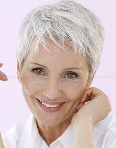 Speciaal voor dames met natuurlijk grijs haar! - Pagina 2 van 10 - Kapsels voor haar