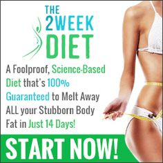 The 2 Week Diet is the diet program for safe, rapid weight loss. Based on a deca… The 2 Week Diet is the diet program for safe, rapid weight loss. Based on a decade of scientific research, it promises at least pounds of body fat in just 14 days. Weight Loss Meals, Losing Weight Tips, Fast Weight Loss, Weight Loss Tips, How To Lose Weight Fast, Fat Fast, Fast 8, Weight Gain, Two Week Diet