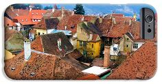 #Transylvania Rooftops #iPhone 6 #Case by Judi Saunders
