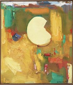 Gloriamundi by Hans Hofmann, 1963 Oil on Canvas, Painting #hanshofmann #abstract #abstractexpressionism