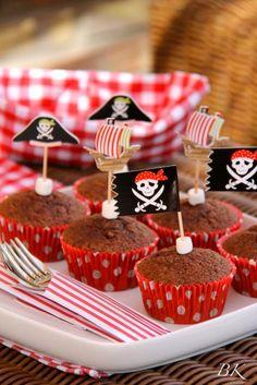 Desayuno pirata! Muffins de calabacín y chocolate para la Recepta del 15