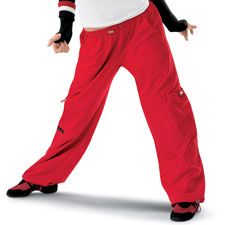 Pull-On Cargo Hip-Hop Pants; Urban Groove from DanceWear Solutions.