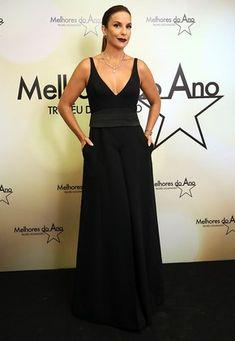Ivete Sangalo aposta em decote poderoso para premiação (Foto: Isabella Pinheiro/Gshow)