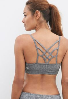 6330878431 Medium Impact - Crisscross Back Sports Bra Womens Workout Outfits