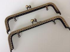 Set of 2  185 cm anti brass purse frame Ref. by Craftlandia23, €5.75