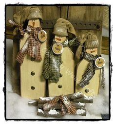 loooooove these guys!!  by Marie's Country Woodcrafts