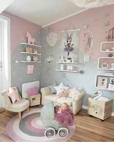 Girl Room Bedroom Ideas - How to Decorate a Disney Princess Room - Decor By Daisy