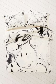 Jacqueline Maldonado For DENY Black And White Duvet Cover