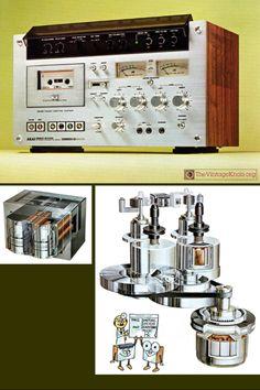 AKAI GXC-570D Vintage audio tape deck