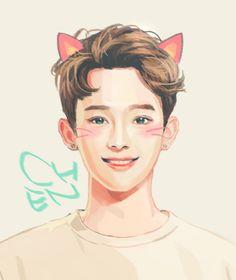 Chen EXO fanart @ Stardium