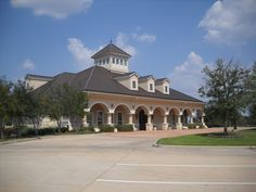 Another view of the Firethorne center-home to community activities, such as car shows and more.