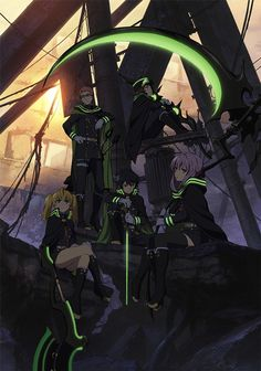 1st PR Visual of 終わりのセラフ/Seraph of the End