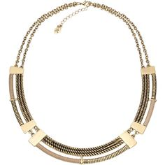 Accessorize Sahara Collar Necklace ($16) found on Polyvore