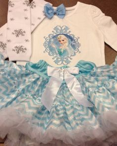 Frozen birthday outfit Disney frozen birthday by SaraSewtique, $31.99