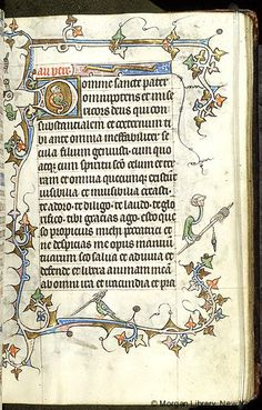 Book of Hours, MS M.754 fol. 21r - Images from Medieval and Renaissance Manuscripts - The Morgan Library & Museum