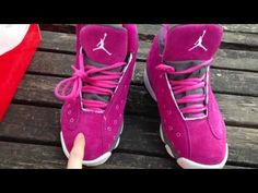 Air Jordan 13 XIII Womens Pink grey Shoes Cheap hiphopfootlocker.net