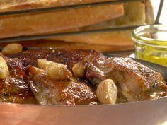 Roasted Garlic Clove Chicken Recipe : Melissa d'Arabian : Food Network - FoodNetwork.com