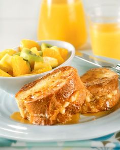 Apricot-Stuffed French Toast
